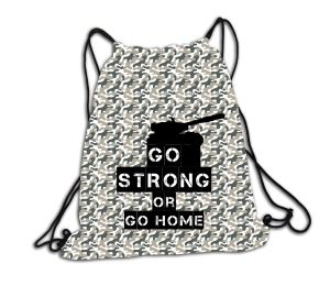 Go strong or go home - plecak
