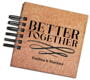 Album personalizowany - Better together