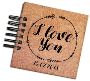 Album personalizowany - I love you